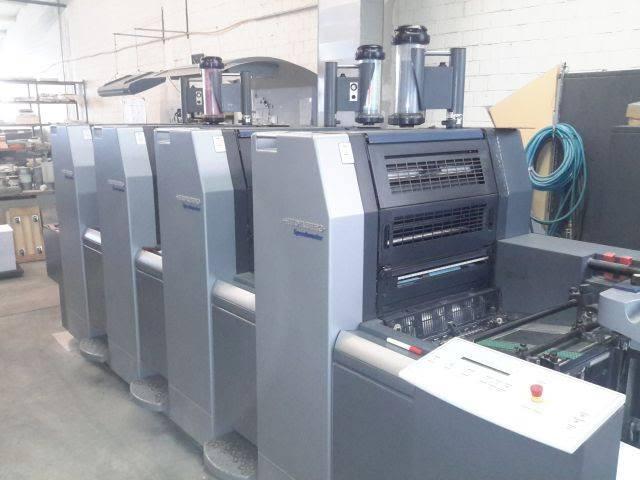 ماكينة طباعة هايدلبرج سبيد ماستر 4 لون Heidelberg SM 52-4+